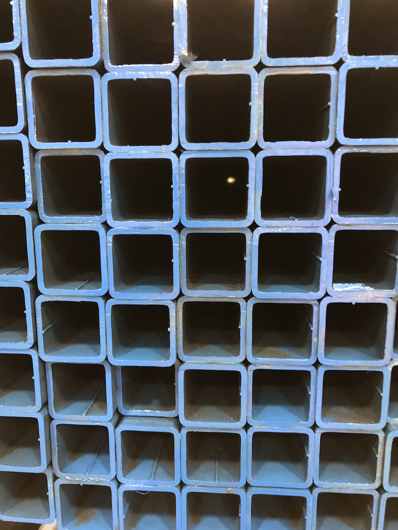 Square Structural Steel Tubing - A500 Square Steel Tubing