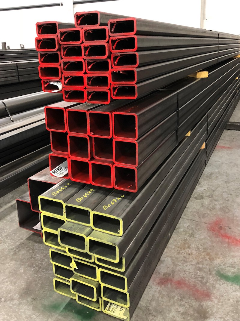 Rectangle Structural Steel Tubing A500 Rectangle Steel Tubing Industrial Tube And Steel Corporation